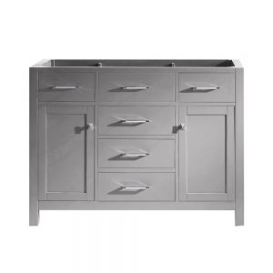 48 in. W Bath Vanity Cabinet in Cashmere Gray